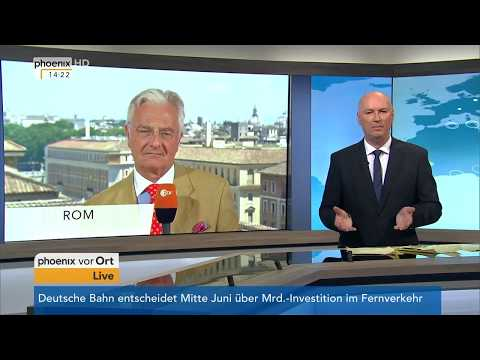 Neue Regierung in Rom: Einschätzung von Italien-Experte Alexander von Sobeck