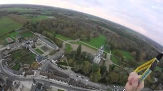 Cour-Cheverny France  city images : Vol en paramoteur avec Alban à Cour Cheverny 41