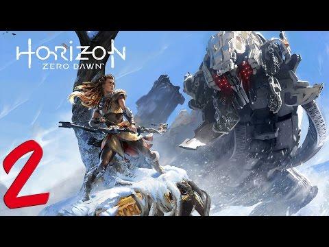 Horizon Zero Dawn. Прохождение. Часть 2 (Учимся убивать машины)