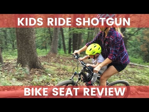 Kids Ride Shotgun Bike Seat Review