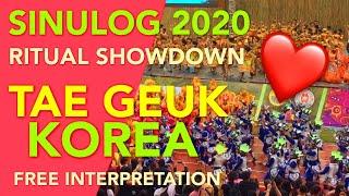 2020년 필리핀 시눌룩 축제 무대공연(태극,…