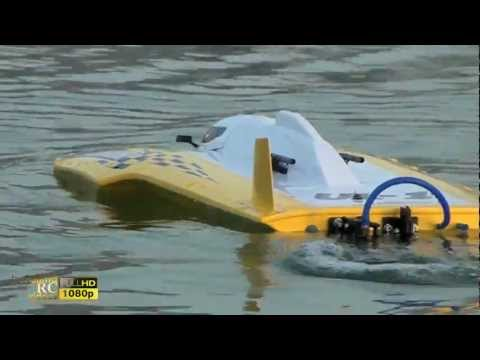 Testing my AquaCraft UL-1 SUPERIOR Speed RC boat - bu Fatima RC Videos