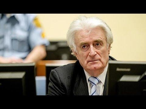 Κάθειρξη 40 ετών στον Κάρατζιτς – Θα ασκήσει έφεση στην απόφαση