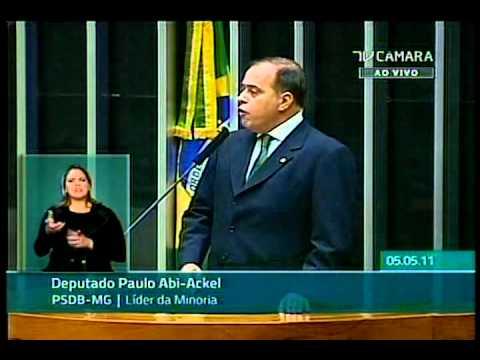 Deputado Paulo Abi Ackel (PSDB – MG) – Código Florestal brasileiro