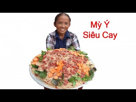 Bà Tân Vlog - Làm Đĩa Mỳ Ý Siêu Cay Khổng Lồ - Thời lượng: 14:40.