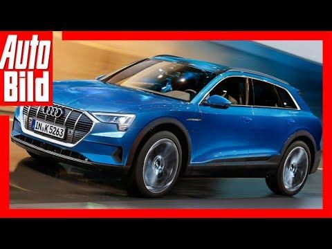 Zukunftsaussicht: Audi e-tron (2018 SUV / 2019 CUV)