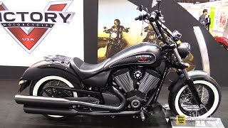 7. 2015 Victory High Ball - Walkaround  -2014 EICMA Milan Motorcycle Exhibition