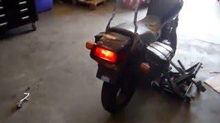 9. 2008 Honda CB250 Nighthawk Black (6D003P)