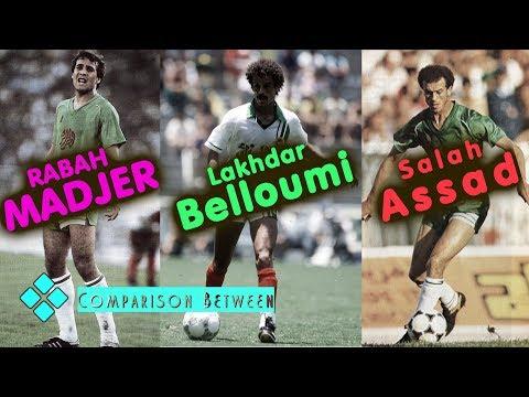 Rétro : Assad, Belloumi, Madjer l'inoubliable trio