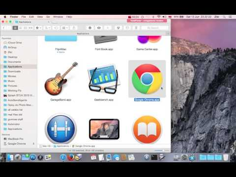 How to  completely remove uninstall delete Google Chrome browser app from Mac launchpad?