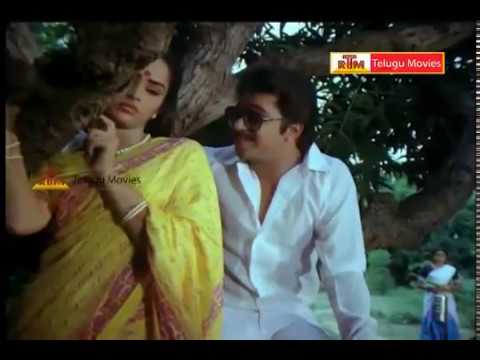 Arjun & Rajini Lovely Scene  - In Chinnari Devatha Telugu Movie