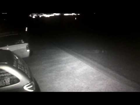 (#12) Light Orbs or invisable bugs? Tucson Az Slow-Motion 01/15/2014