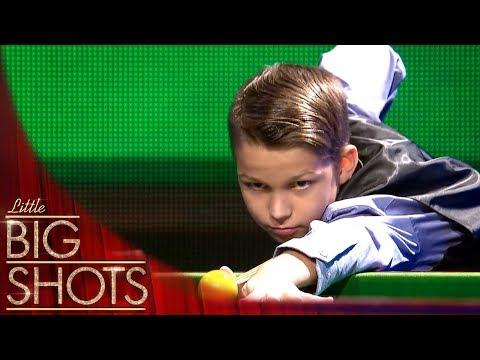 Amazing Snooker Trick Shot Artist @Best Little Big Shots