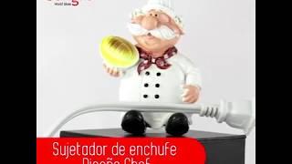 Sujetador de enchufe - Diseño Chef
