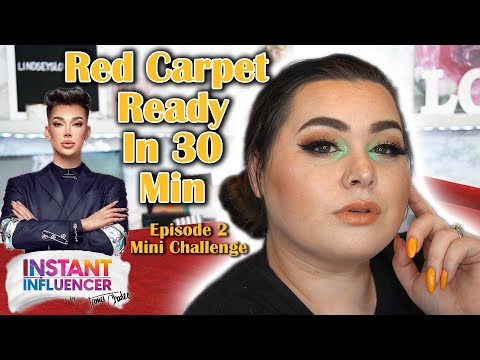 INSTANT INFLUENCER EPISODE 2 MINI CHALLENGE RED CARPET READY IN 30 MINUTES