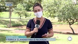 Paraguaçu Paulista : fábrica de cosméticos clandestina é lacrada