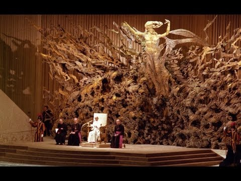 Satan's Throne At The Vatican...WEIRD!!!!!!!