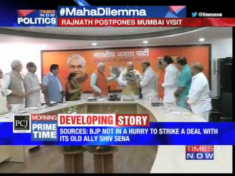 BJP not in a hurry to strike a deal 21 October 2014 01 PM