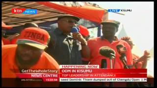 Narok is painted orange for we are all ODM, 1/10/2016