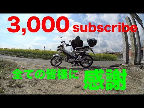【全ての皆様に感謝m(_ _)m】3,000subscribe