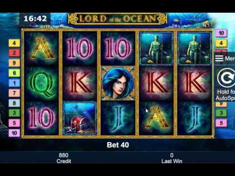 Игровые автоматы lord of the ocean играть бесплатно без регистрации