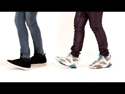 Элементы Хип-Хопа: heel toe. Обучающее видео.