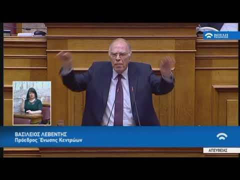 Β.Λεβέντης(Πρό.Ένωσης Κεντρώων)(Περιεχόμενο κρίσιμων συζητήσεων Κυβέρνησης-Δανειστών)(23/05/2018)