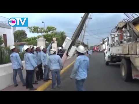 Tolvaneras de este martes provocan daños en León