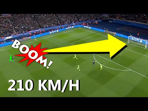 Top 10 fastest shots ever in football match