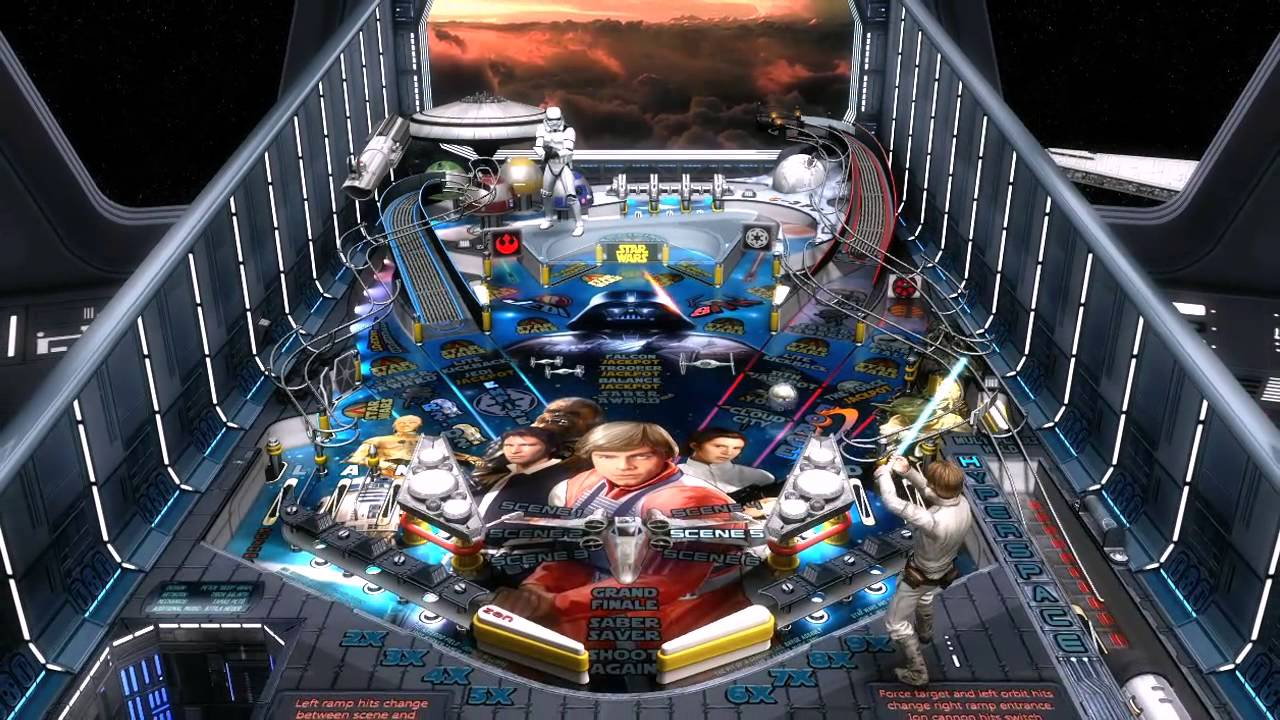Freebie Alert: 'Star Wars Pinball' Goes Free, Additional Downloadable Tables On Sale for Half Off