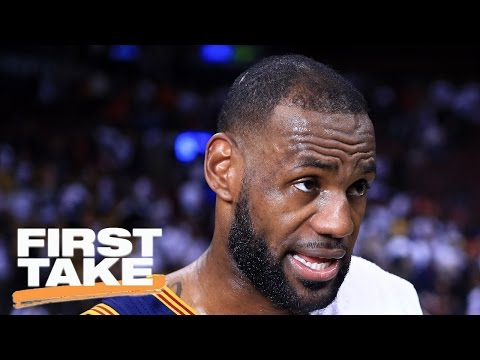 Is LeBron James Good Because His Competition Is Bad? | First Take | May 9, 2017