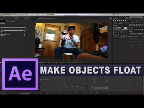 After Effects - How to make objects float in After Effects. Download Project Footage: http://wp.me/p2jqmw-TE This tutorial will work for past version of After Effects just f...