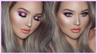 PURPLE PARTY Smokey Eyes - TOO FACED x NIKKIETUTORIALS Collection Tutorial by Nikkie Tutorials