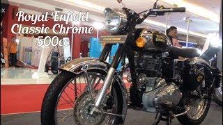 8. Royal Enfield Classic Chrome