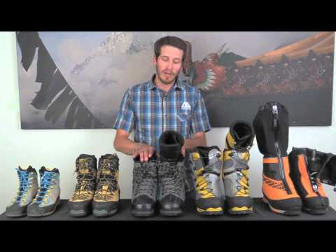 Gear Tips  - Mountaineering Boots (видео)