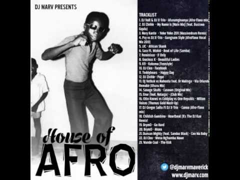 Afro House Mix 2013 by DJ Marv