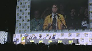 "In this highlight from the Doctor Who Hall H panel at San Diego Comic-Con 2017, Dirk Gently asks the Doctor, Peter Capaldi, a very important question. Subscribe now: http://bit.ly/1aP6Fo9The Doctor (Peter Capaldi) is an alien Time Lord from the planet Gallifrey who travels through all of time and space in his TARDIS with his companion. Instead of dying, the Doctor is able to """"regenerate"""" into a new body, taking on a new personality with each regeneration.Twitter: http://twitter.com/doctorwho_bbcaFacebook: http://www.facebook.com/DoctorWhoTumblr: http://DoctorWho.tumblr.comInstagram: http://instagram.com/doctorwho_bbcaSnapchat: http://snapchat.com/add/bbcamerica_tv"