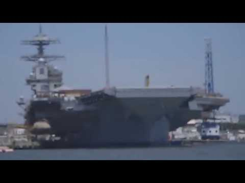 Watch The Navy s Catapult Launch 4Ton Sled Off An Aircraft