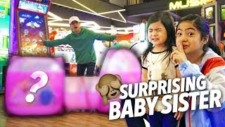 Video Surprising Baby Sis With Biggest Prize!! | Ranz and Niana MP3, 3GP, MP4, WEBM, AVI, FLV Desember 2018