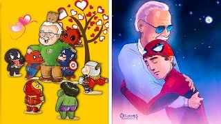 Video Stan Lee Fans All Over The World Are Already Sharing Tribute Art In Honor Of This Legendary Man MP3, 3GP, MP4, WEBM, AVI, FLV November 2018