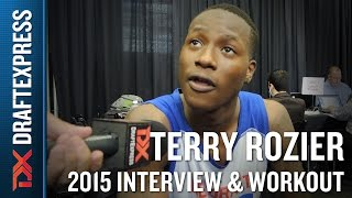 Terry Rozier 2015 NBA Draft Workout Video