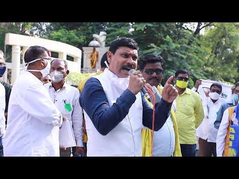 Nagpur OFROT                      Sanjay Puram Ex. MLA speaking before people