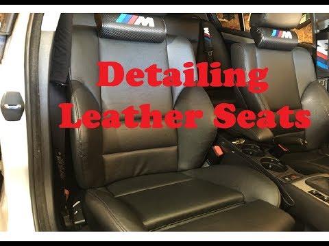 Detailing Leather Seats | BMW E46 330xi