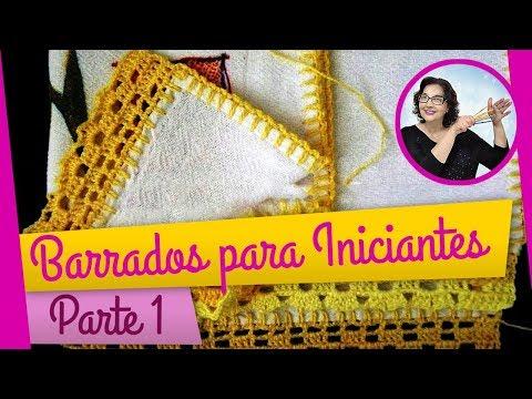 CROCHE AULA 26 BARRADO PARTE 1 (HD)