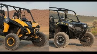 10. 2013 Can Am Maverick X RS vs  2013 Polaris RZR XP 900 LE EPS