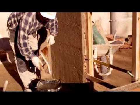 ENLUCIDO - Revoque regleado con mortero seco M-7,5 y enlucido con cal apagada (cal leña) (cal flor) Vídeo nº 67 creado en el año 2011 actualizado con 74.436 visualizaci...