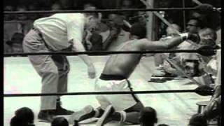 Floyd Patterson Vs Ingemar Johansson I - 1959 - Round 3 - WINS TITLE