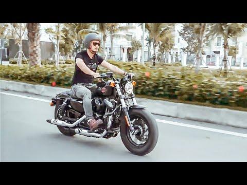 Đánh giá sơ bộ Harley Davidson Forty Eight (48) đời 2019 giá 470 triệu Hùng Lâm vừa tậu - Thời lượng: 19:43.