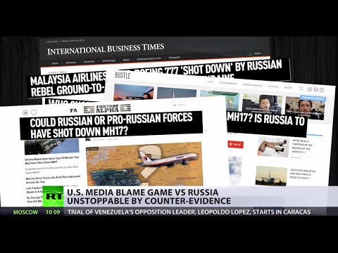 media - The MH17 crash is turned into an information war by western media. Despite the US officials say there is no evidence of Russia's involvement in MH17 crash, the Western media is looking for...