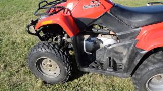 1. 2009 Arctic Cat 250 for sale at Monster Powersports